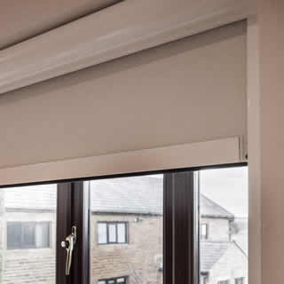 Blackout Blinds With Side Channels